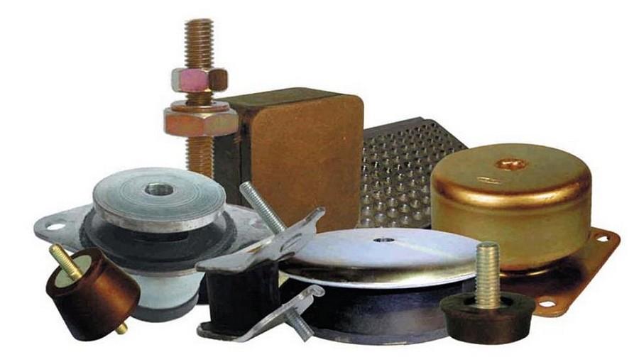 Silent-blocs ASB avec platine et coupelle